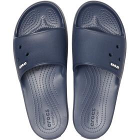 Crocs Crocband III Slides-sandaali, navy/white